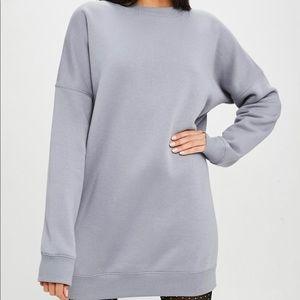 Carli Bybel Missguided Oversized Sweatshirt